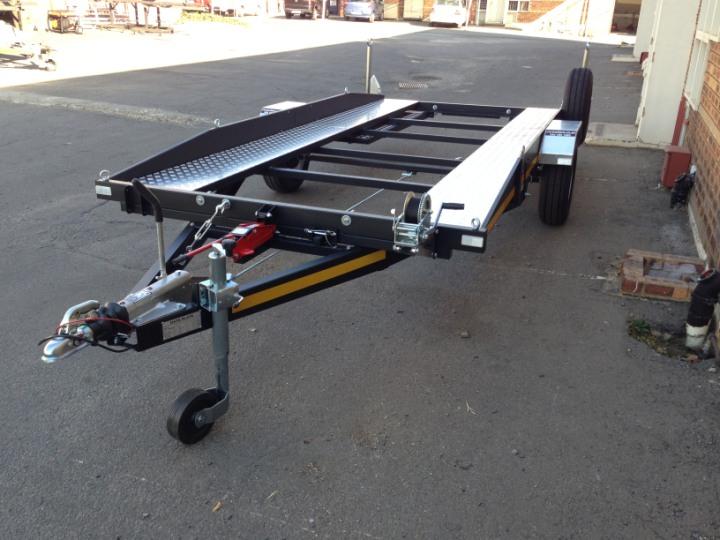 single axle car trailer